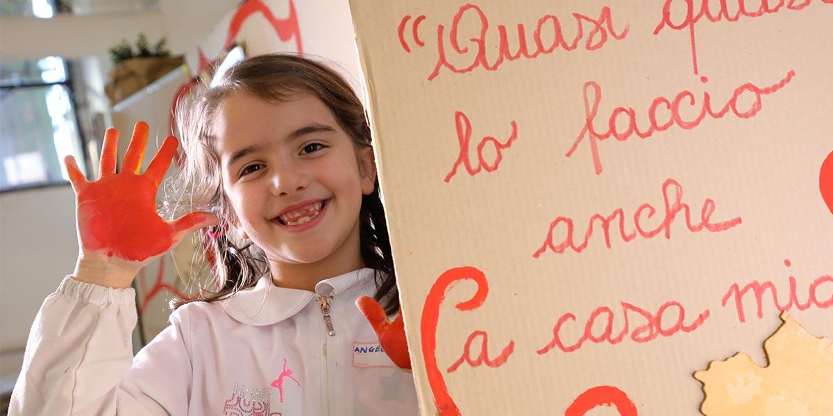 Scuola primaria Frassati - Laboratorio espressivo