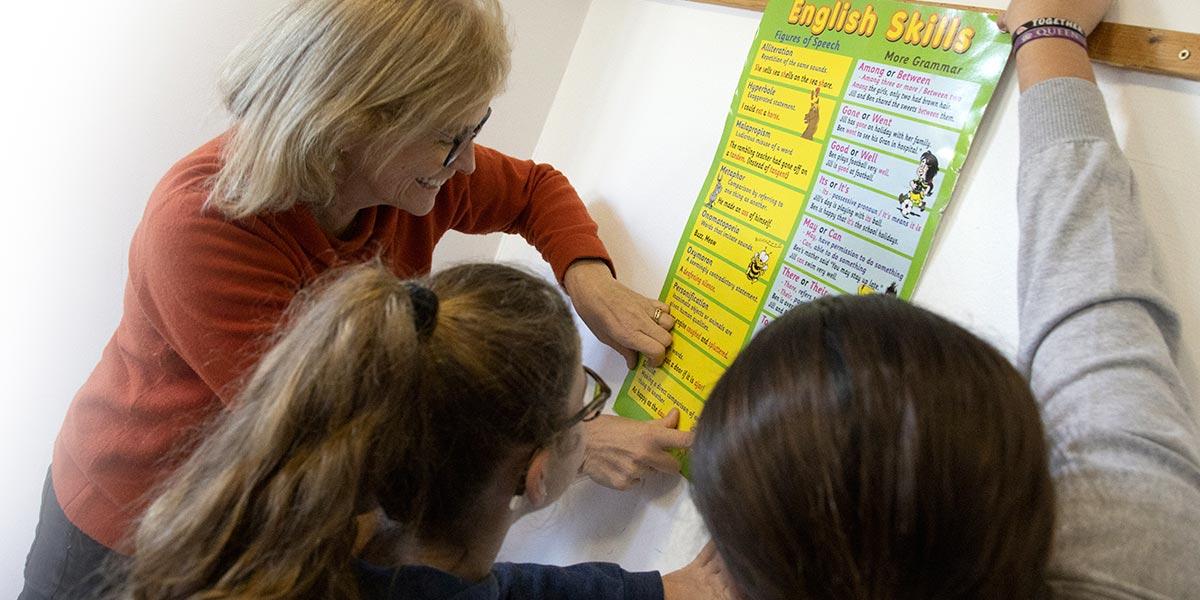 Scuola secondaria I° Frassati - Inglese potenziato con madrelingua