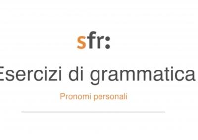 A lezione di grammatica